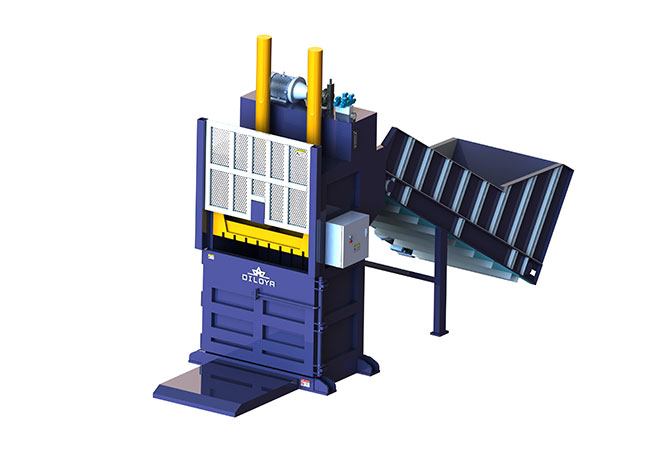 Vertical Scraps Baling Press Line