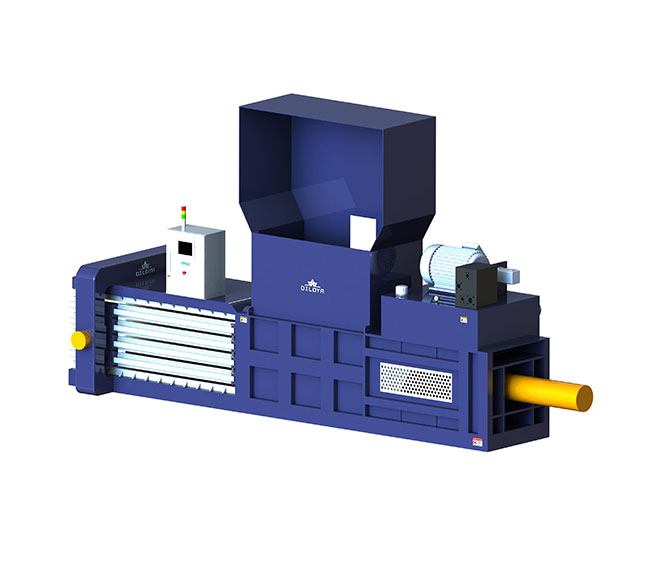 MHC Series Semi-Automatic Horizontal Continuous Baling Press Machine