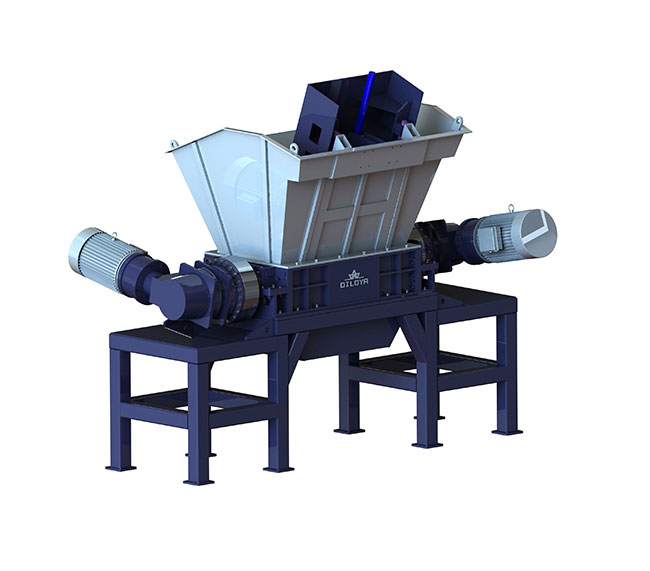 HDS Series Double Shaft Shredder Machine