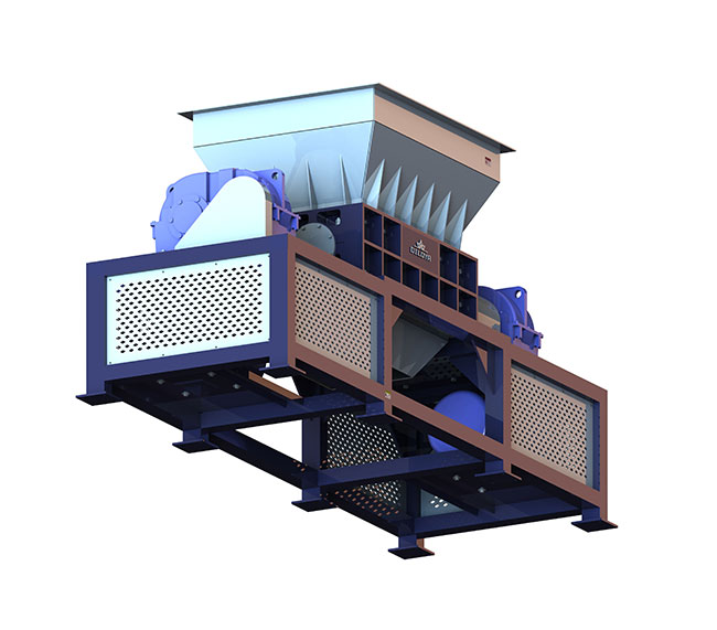 NDS Series Double Shaft Shredder Machine