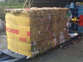 What is principle of waste cardboard box...